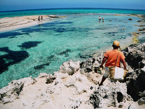 Formentera Beach in Spain