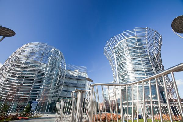 9. Low Carbon Campus, United Kingdom (Photograph by Ashley Cooper, Corbis)