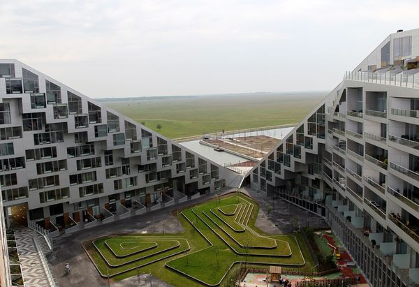 4. Sustainable Housing, Denmark (Photograph from Yonhap News Agency/European Pressphoto)